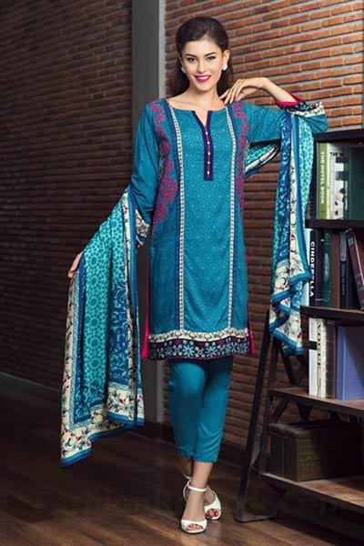 Al-Karam Winter Dresses Best Collection For Women