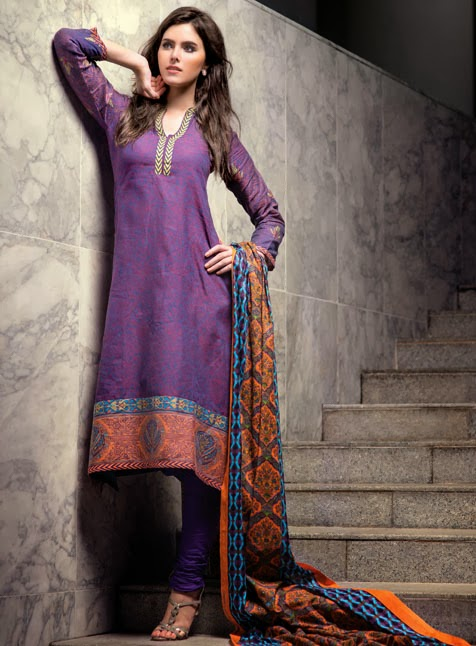 Al Karam Winter Dresses Collection For Girls