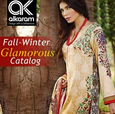 Al Karam Winter Dresses Collection For Women