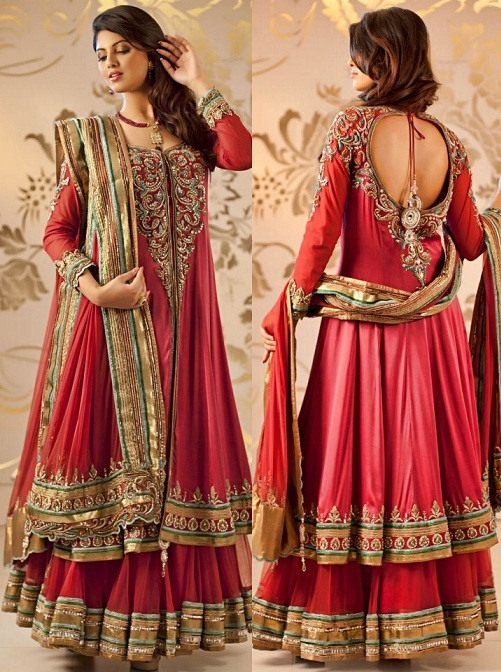 Anarkali Wedding Style and Long Frock Design Collection