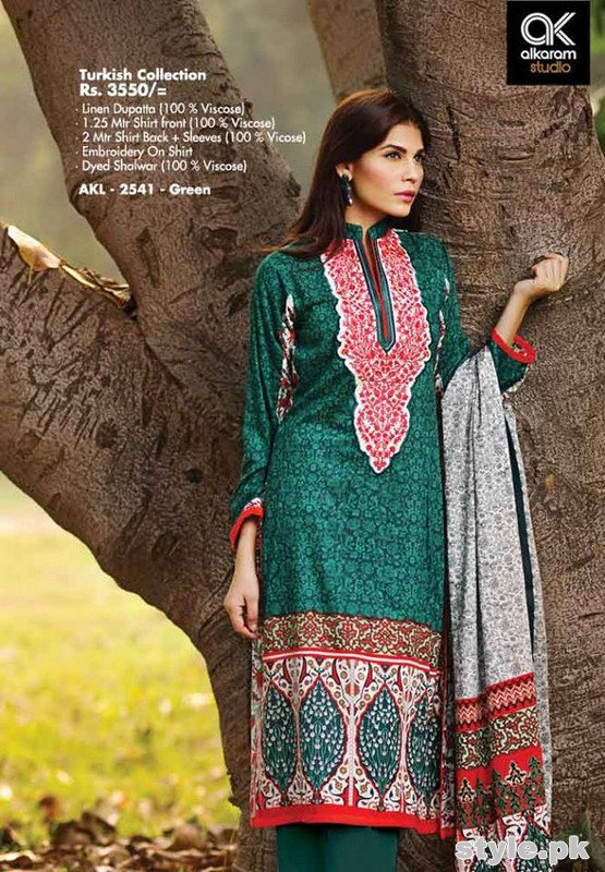 Latest Al-Karam Winter Dresses Volume 2