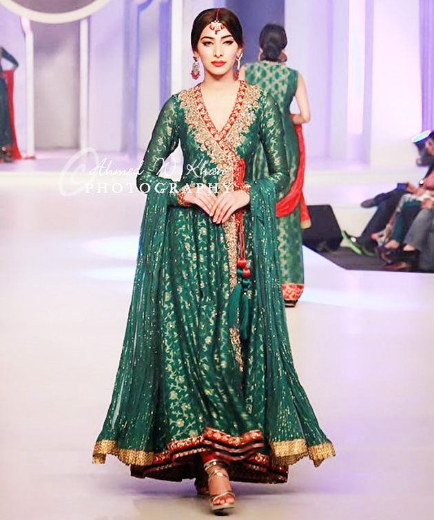 Latest Angrakha Style Dress Designs For Women 2017-2018