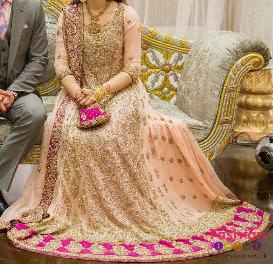 Latest Pakistani Walima Dresses 2017 For Bridals