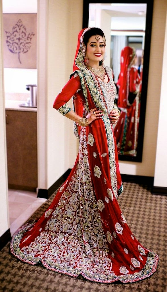 Pakistani Wedding Dresses 2017 For Women