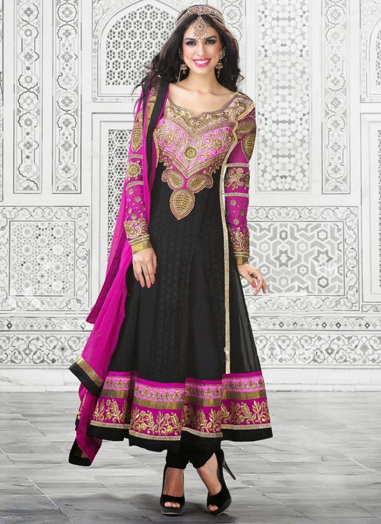 Anarkali Frocks Design Collection For Girls