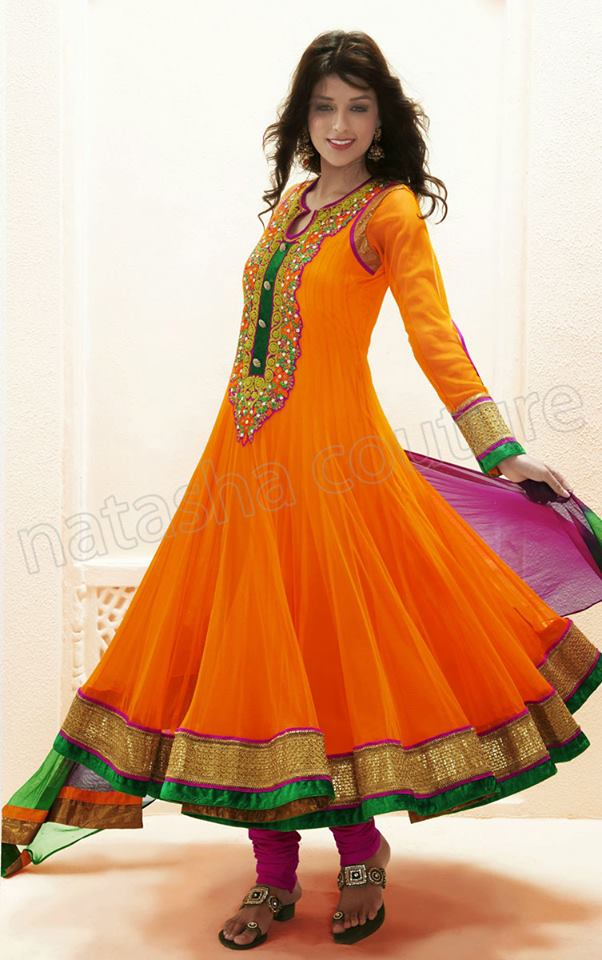Anarkali Long Frock Designs For Women