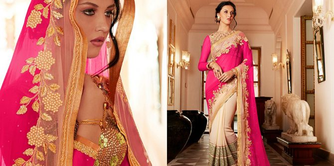 Beautiful Stylish Saree Designs Collection For Women