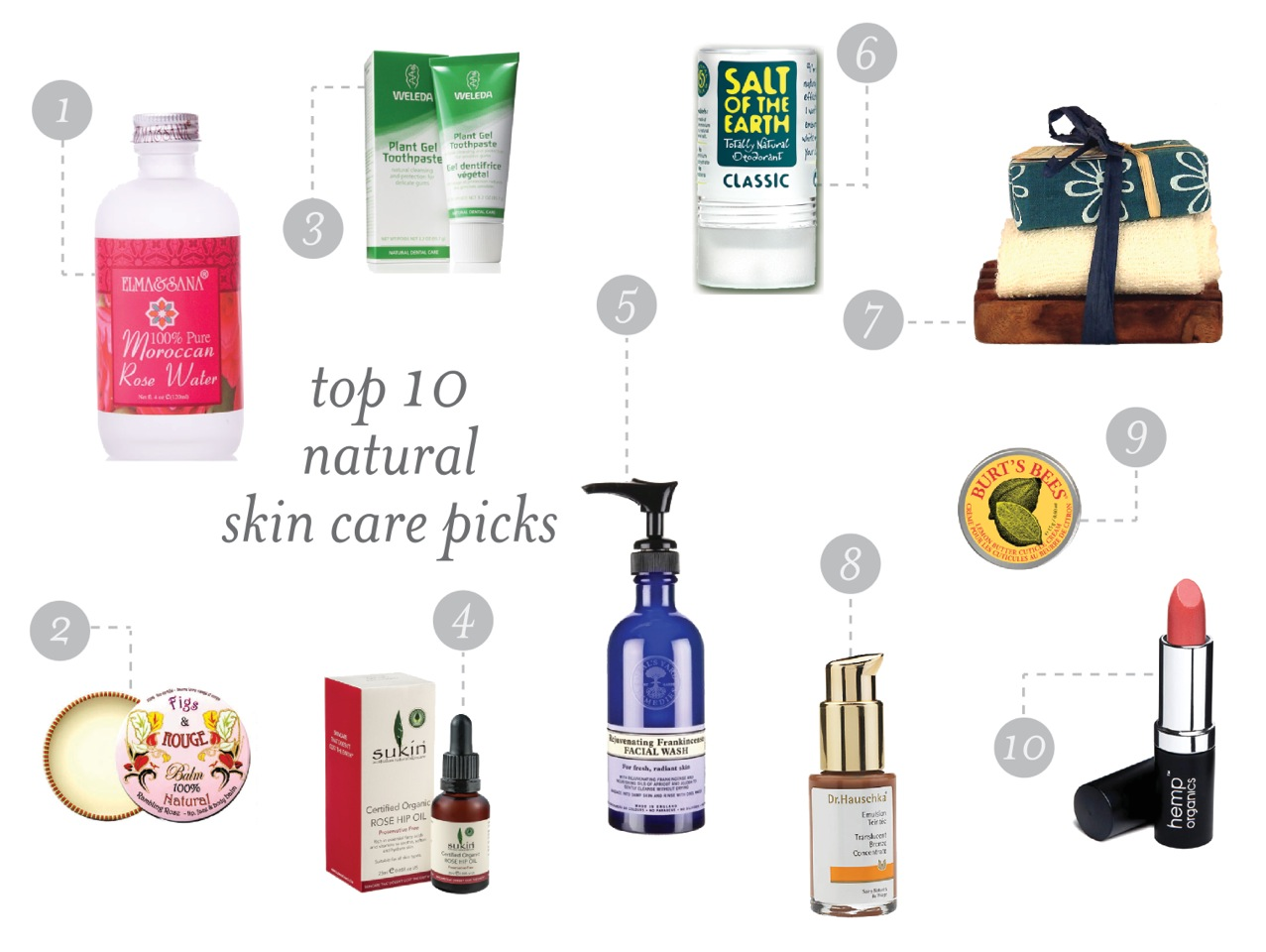 Best Organic Skin Care and Beauty Products With Natural