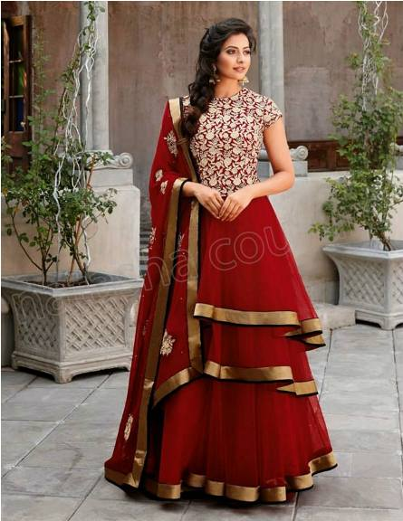 Bridal Anarkali Frocks Fashion For Women