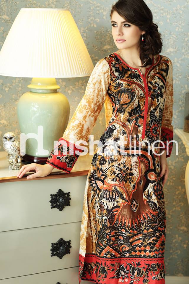 Eid Stylish Dresses Selection For Girls By Nishat Linen