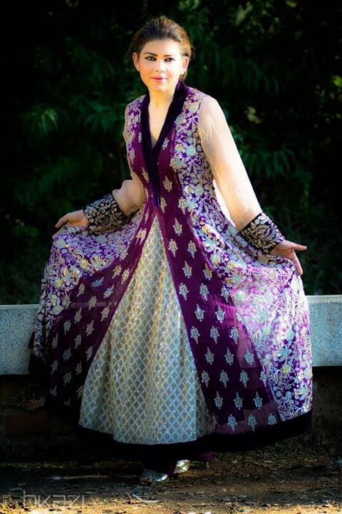 Frocks fashion trends in Pakistan and India