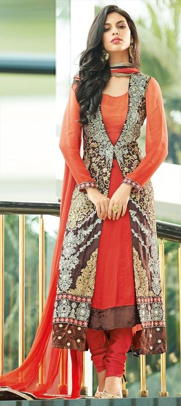 Front Open Double Shirt Dresses Designs Collection for Girls