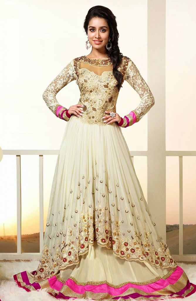 Gorgeous Anarkali Suit For Women 2017-18