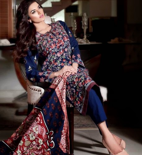 Gul Ahmed Latest Fall Winter Dresses For Women