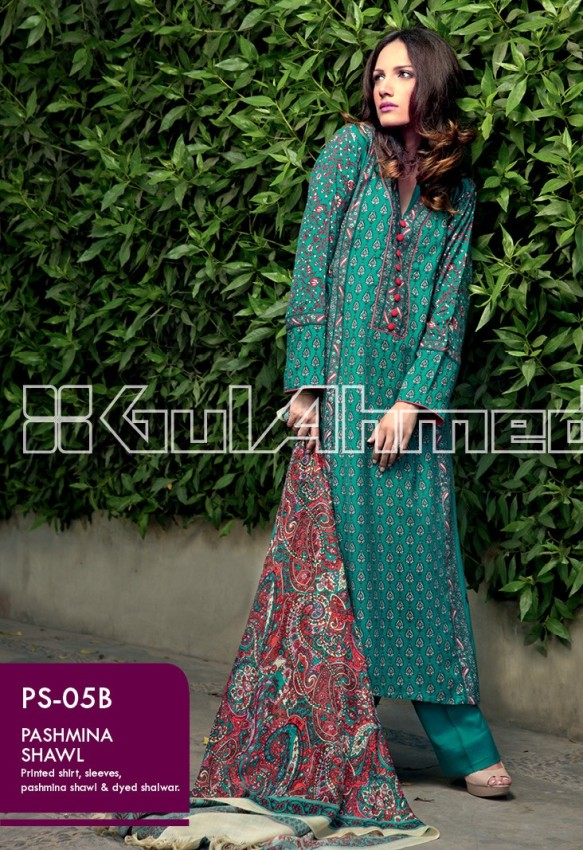 Gul Ahmed Winter Collection With Price For Women