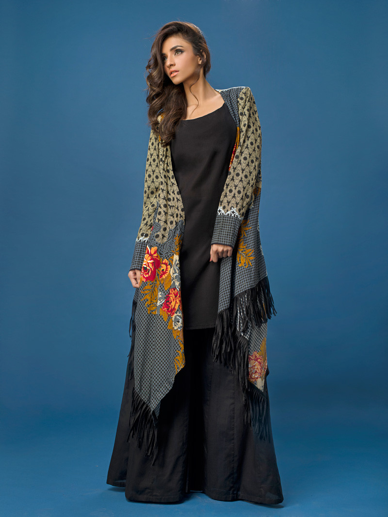 Gul Ahmed Winter Dresses Collection For Women and Girls