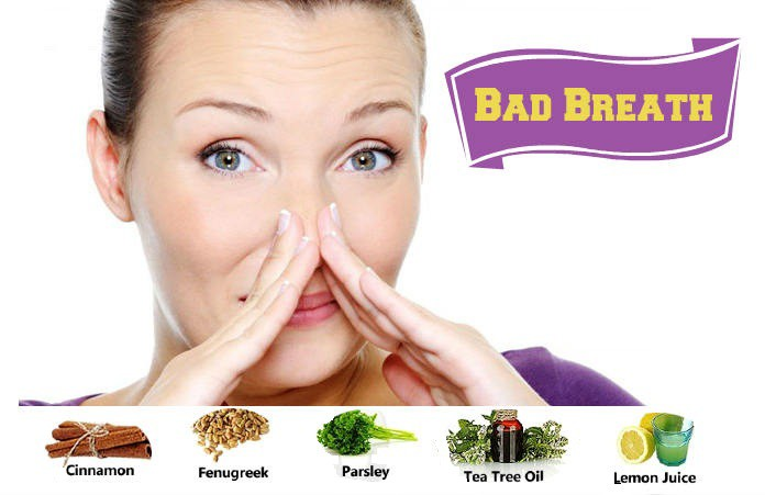 Home Remedies get rid of bad breath