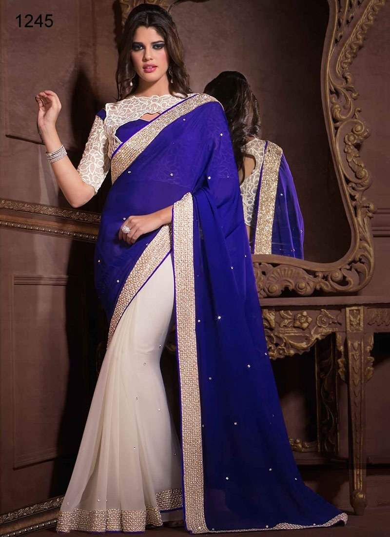 Indian Saree Designs 2017-18 For Women