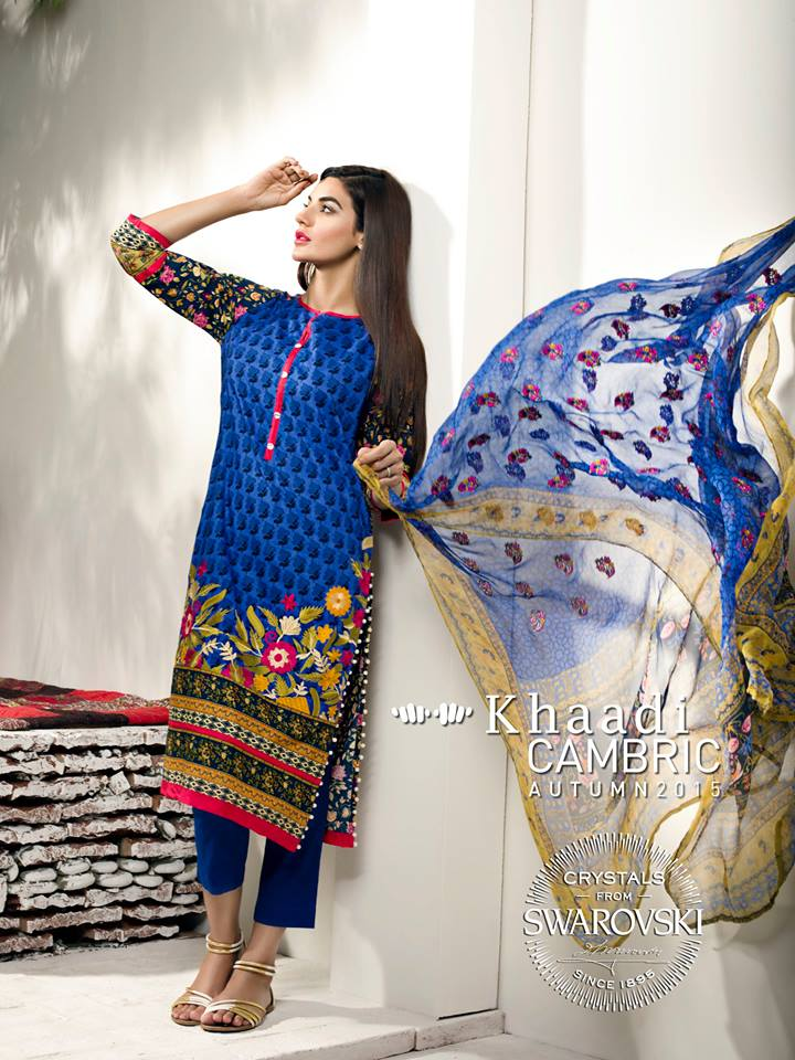 Khaadi Cambric Autumn Collection For Women