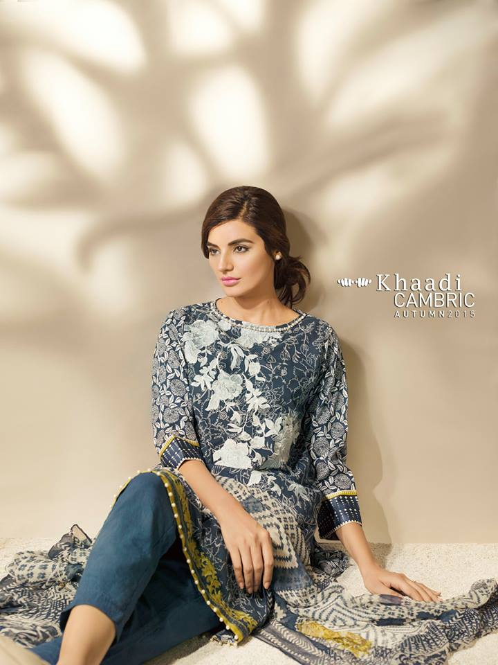 Khaadi Cambric Autumn & Eid ul Azha Collection for Girl