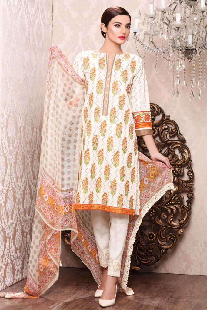 Khaadi Cambric Dresses Collection For Women and Girls