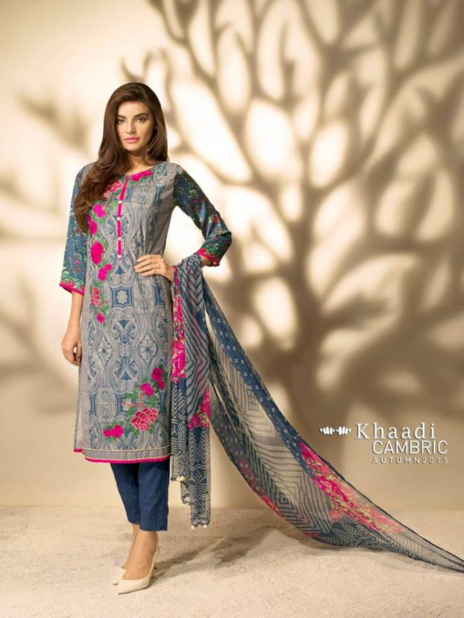 Khaadi Winter Dress Fashion Collection for Girls