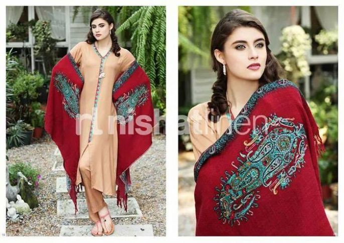 Latest And Stylish Nishat Linen Eid Collection For Women