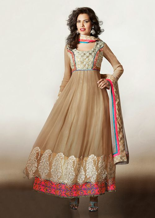 Latest Fashion Designer Anarkali Frock For Women