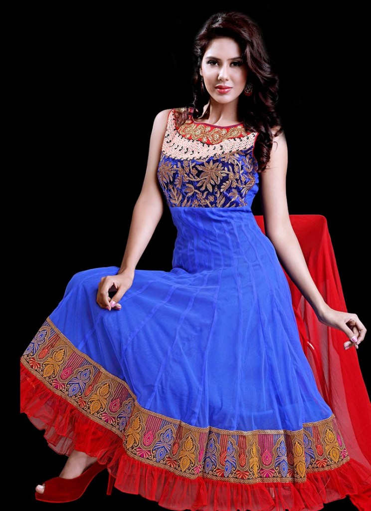 Latest Fashion Indian and Pakistani Frock Designs