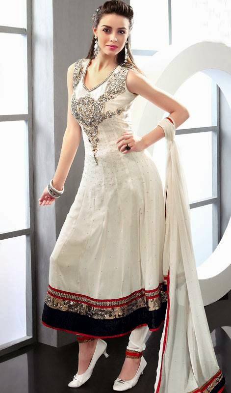 Latest Frocks Fashion Trends Designs in Pakistan and India