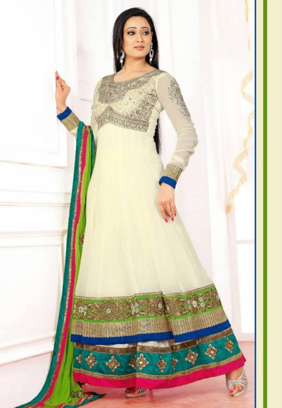 Latest Indian Anarkali Frock Design For Women
