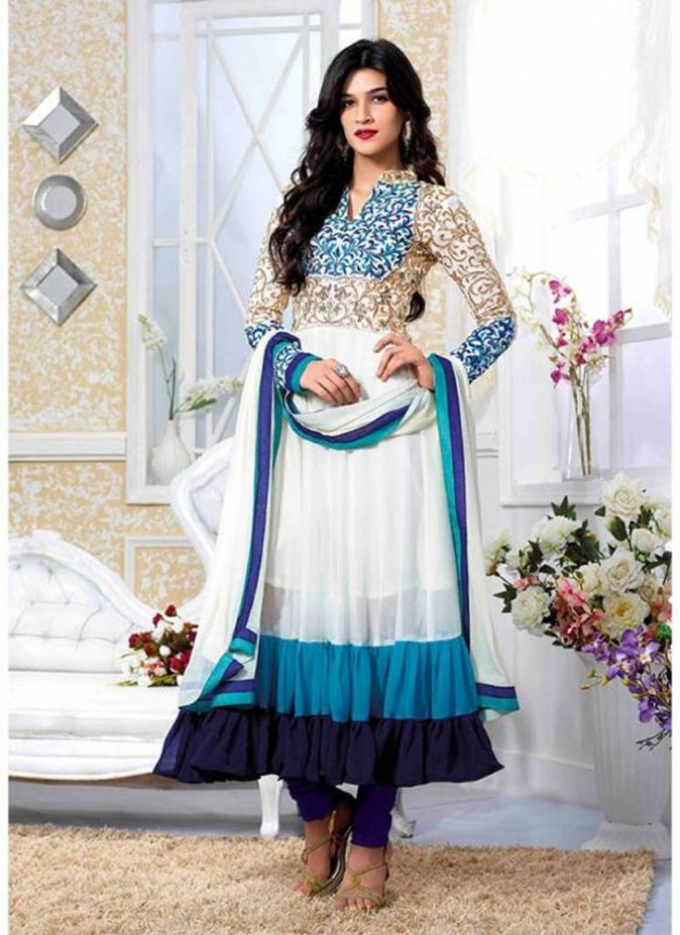 Latest Indian Anarkali Frock Fashion For Women