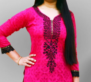 Latest Indian Pakistani Best Neck Gala Fashion For Women