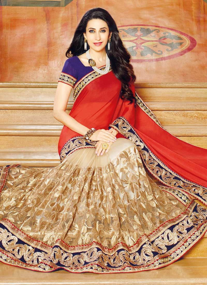 Latest Indian Party Wear Sarees Collection For Girls