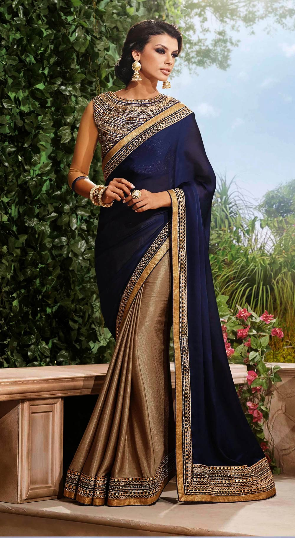 Latest Indian Sarees Designs Collection 2017-18 For Girls