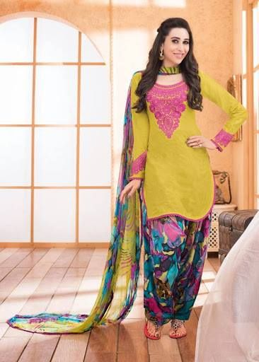 Latest Patiala Suits 2017-18 For Women