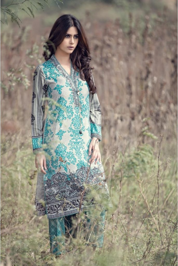 MARIA B Eid Dress Collection 2017 For Women