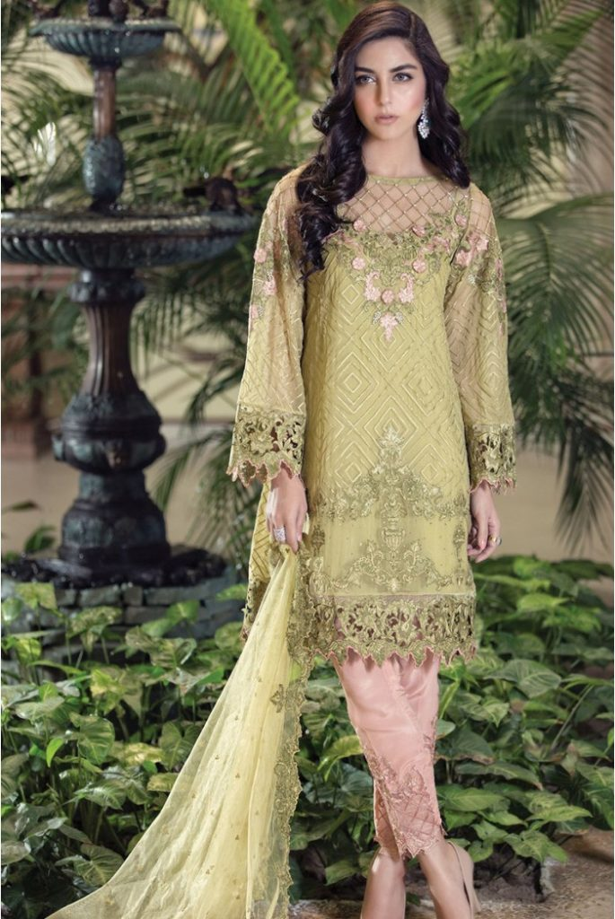 Maria B Bridal Dresses 2017-18 Collection For Girls