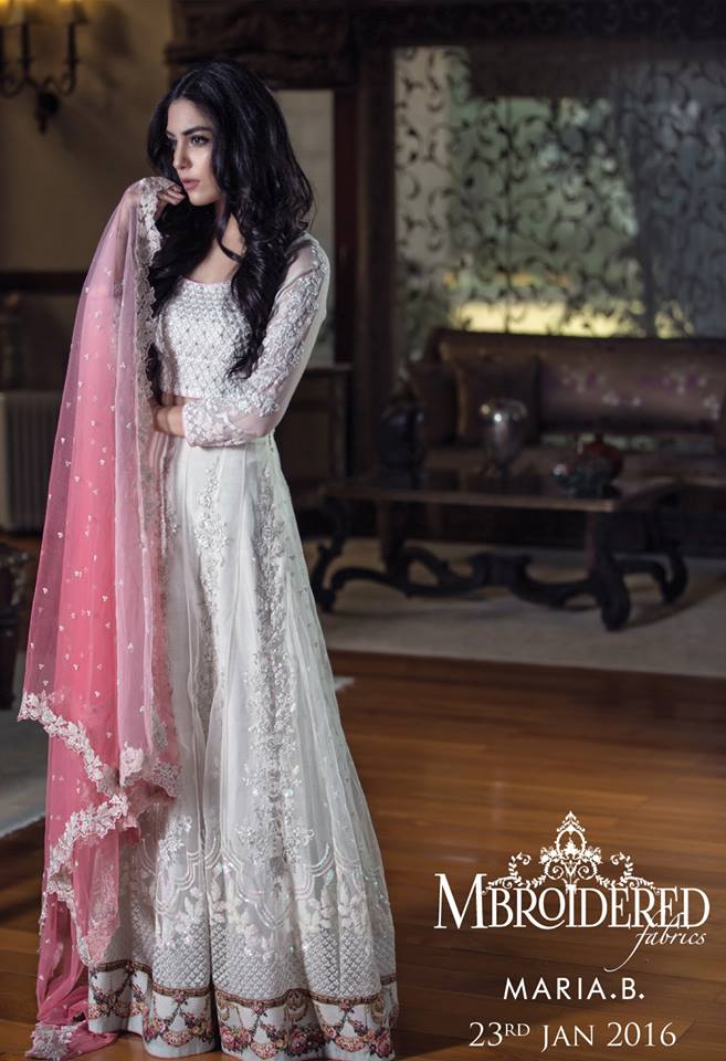 Maria B New Linen & Indian Pashmina Collection For Women