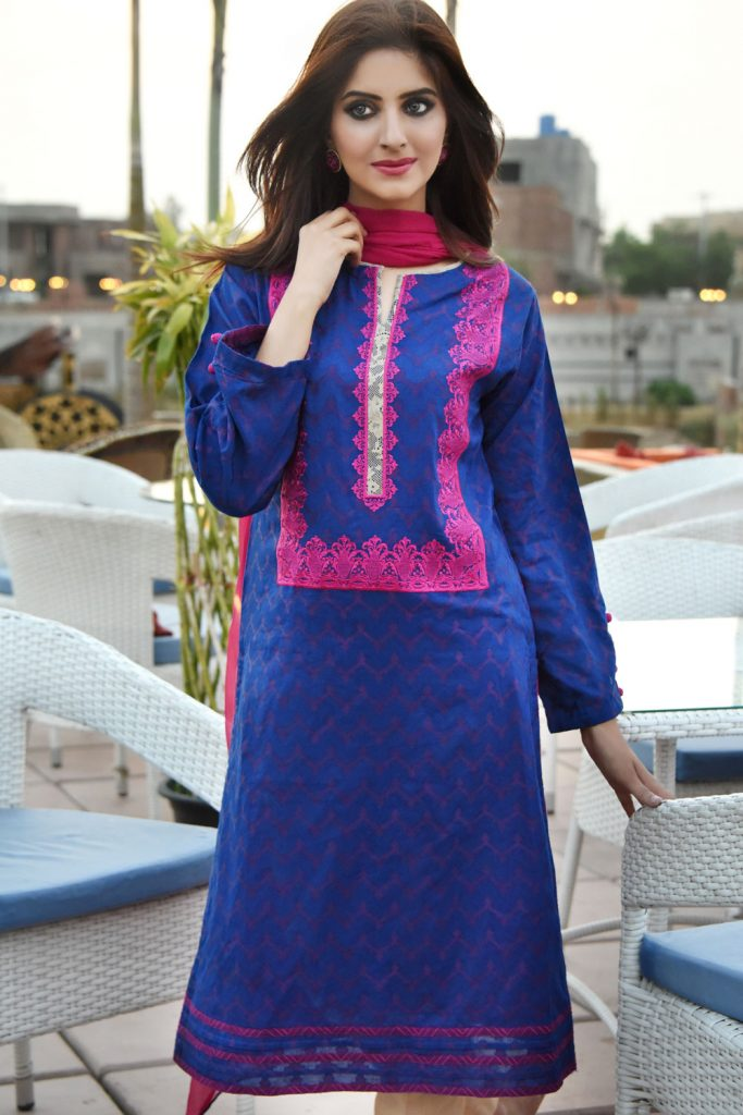 Nimsay Eid Lawn Collection for Women 2017