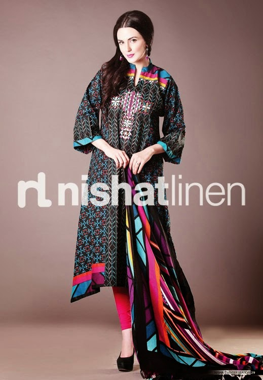 Nishat Linen Eid Dresses Collection For Women 2017