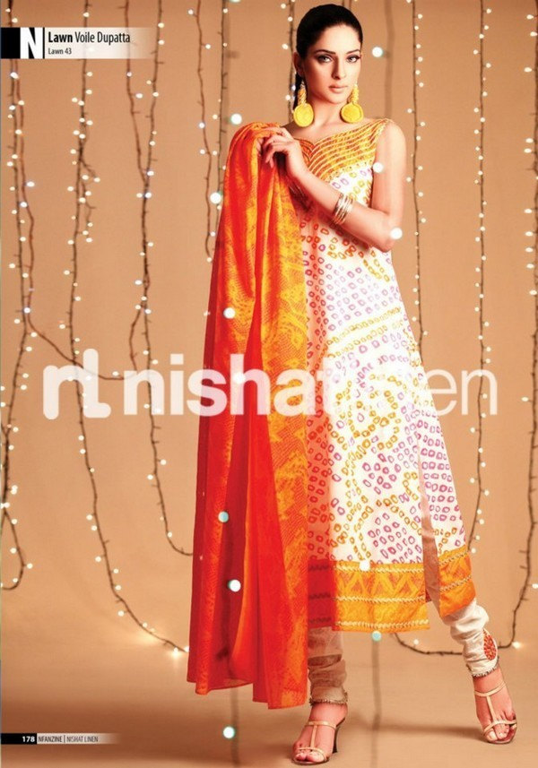 Nishat Linen Latest Eid Collection 2017 For Women
