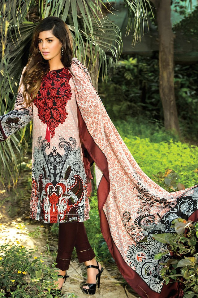Origins Winter Dresses Collection For Girls 2017-18