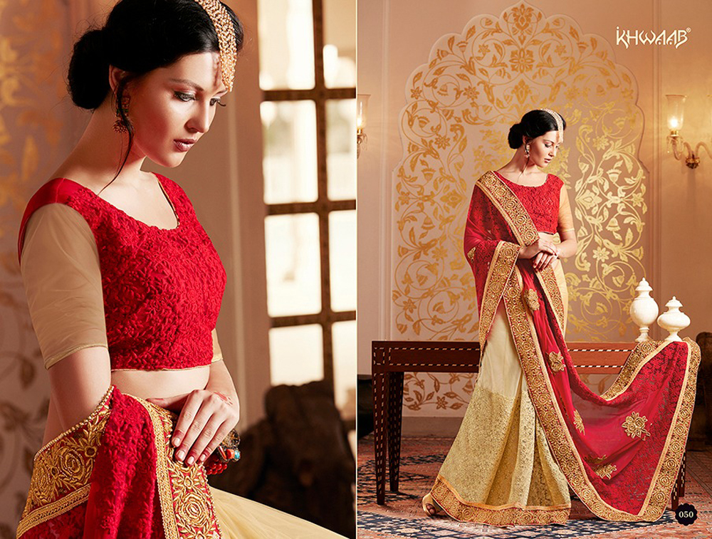 Royal Sarees Fall Winter Indian Hot Saree Designs 2017-18