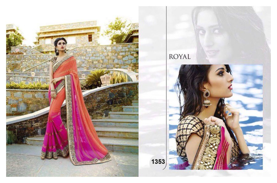 Stylish Indian Saree Designs Collection For Women