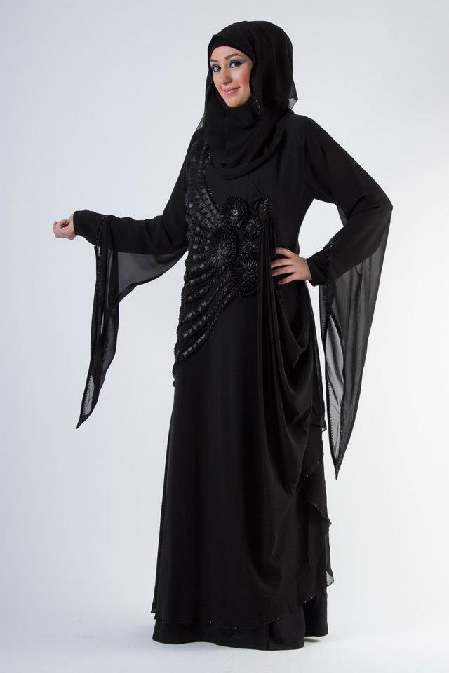 Unique Hijab and Abayas Designs For Women