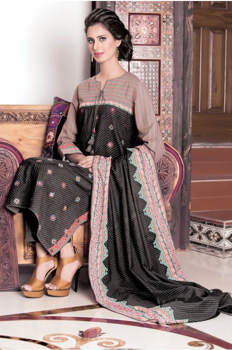 Winter Dresses Collection 2017 by Kayseria For Women