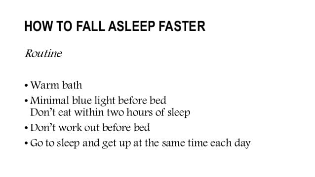 Best Ways to Fall Asleep Faster