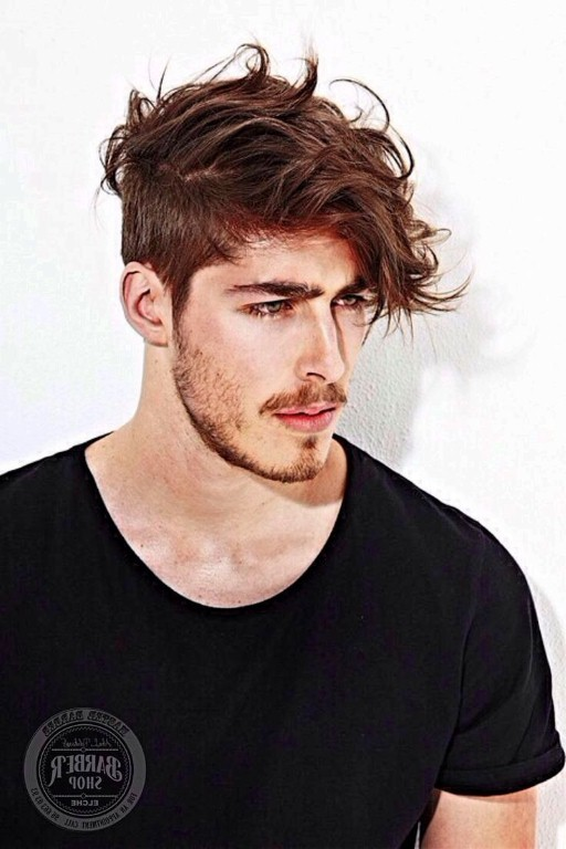 Curly Hair - Men's Hairstyle Trends 2017-18