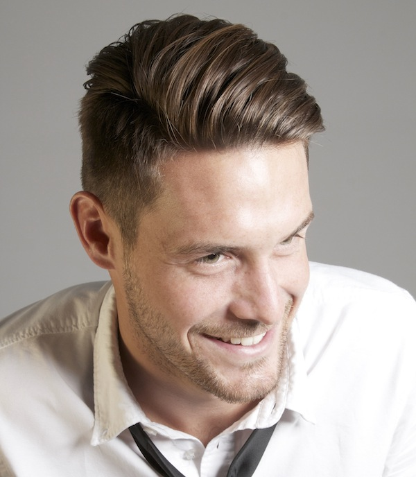 Easy Men's Hairstyles Long Top Short Sides